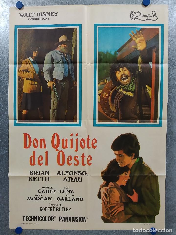 DON QUIJOTE DEL OESTE. BRIAN KEITH, ALFONSO ARAU AÑO 1971. POSTER ORIGINAL (Cine - Posters y Carteles - Westerns)