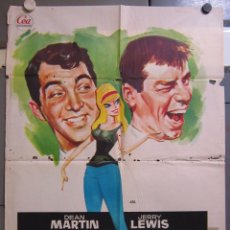 Cine: ZW99 UN FRESCO EN APUROS DEAN MARTIN JERRY LEWIS POSTER ORIGINAL 70X100 ESTRENO. Lote 180021053