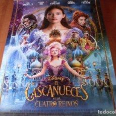 Cine: EL CASCANUECES Y LOS 4 REINOS - MACKENZIE FOY,KEIRA KNIGHTLEY,HELEN MIRREN CARTEL ORIGINAL AÑO 2018. Lote 180093257
