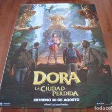 Cine: DORA Y LA CIUDAD PERDIDA - ISABELA MERCED, EVA LONGORIA, MICHAEL PEÑA - CARTEL ORIGINAL AÑO 2019. Lote 180093687