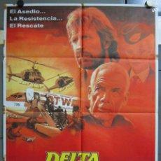 Cine: ZX21 DELTA FORCE CHUCK NORRIS LEE MARVIN POSTER ORIGINAL 70X100 ESTRENO. Lote 180093937