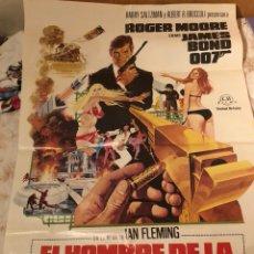 Cine: CARTEL 007 EL HOMBRE DE LA PISTOLA DE ORO. Lote 180165533