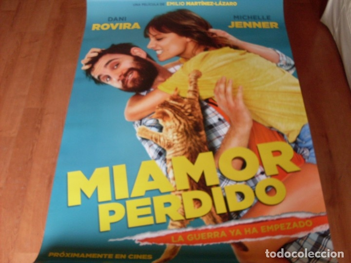 MI AMOR PERDIDO - DANI ROVIRA, MICHELLE JENNER, ANTONIO DECHENT - CARTEL ORIGINAL AÑO 2018 (Cine - Posters y Carteles - Clasico Español)