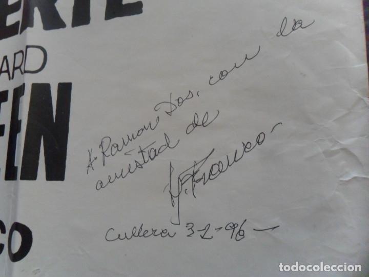 CON AUTÓGRAFO DE JESÚS JESS FRANCO, CARTEL FU-MANCHU Y EL BESO DE LA MUERTE. 100X69 CMS. MÍTICO. (Cine - Posters y Carteles - Terror)