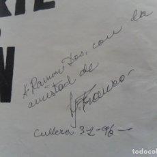 Cine: CON AUTÓGRAFO DE JESÚS JESS FRANCO, CARTEL FU-MANCHU Y EL BESO DE LA MUERTE. 100X69 CMS. MÍTICO.. Lote 180191951