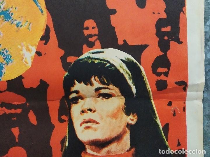 Cine: El número uno. Charlton Heston, Jessica Walter- futbol americano. AÑO 1972. POSTER ORIGINAL - Foto 5 - 180328866