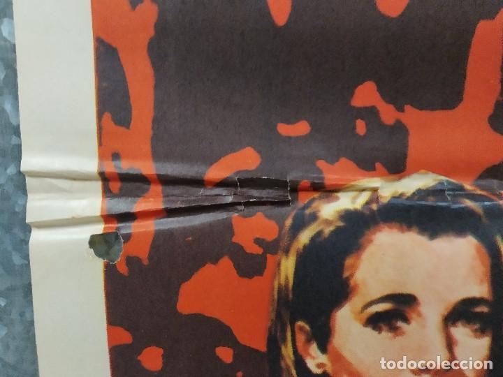 Cine: El número uno. Charlton Heston, Jessica Walter- futbol americano. AÑO 1972. POSTER ORIGINAL - Foto 10 - 180328866
