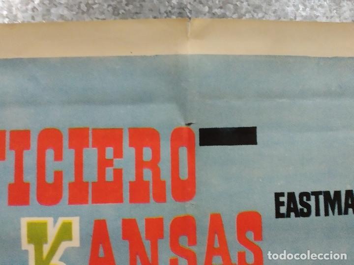Cine: El justiciero de Kansas. Stewart Granger, Pierre Brice, Larry Pennell. AÑO 1966. POSTER ORIGINAL - Foto 3 - 180330985