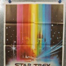 Cine: STAR TREK, LA PELÍCULA. WILLIAM SHATNER, LEONARD NIMOY. AÑO 1980. POSTER ORIGINAL. Lote 180337722