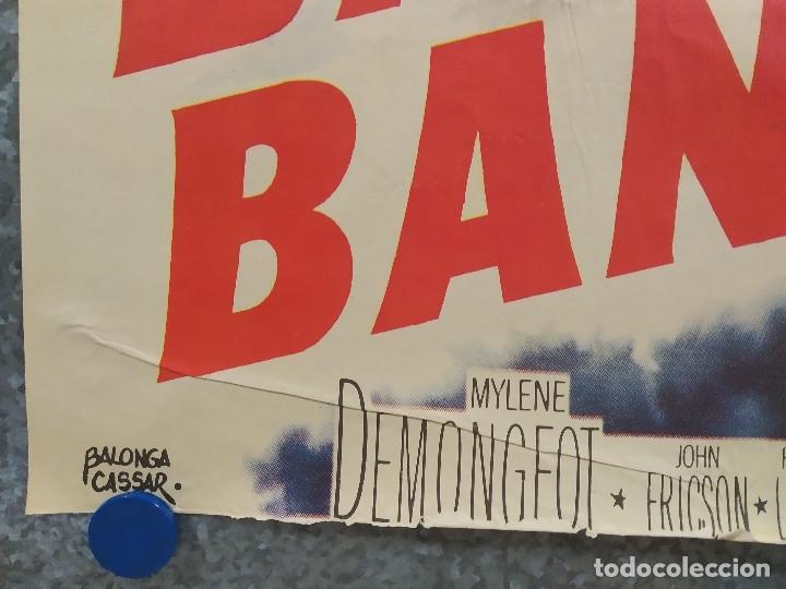 Cine: Bajo diez banderas. Van Heflin, Charles Laughton, Mylène Demongeot AÑO 1959. POSTER ORIGINAL - Foto 6 - 180340066