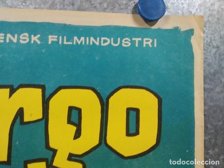 Cine: EL LARGO VIAJE. GUSTAF MOLANDER, ANITA BJORK. AÑO 1964. POSTER ORIGINAL - Foto 3 - 180343647