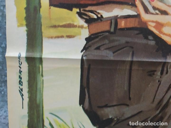 Cine: EL LARGO VIAJE. GUSTAF MOLANDER, ANITA BJORK. AÑO 1964. POSTER ORIGINAL - Foto 6 - 180343647