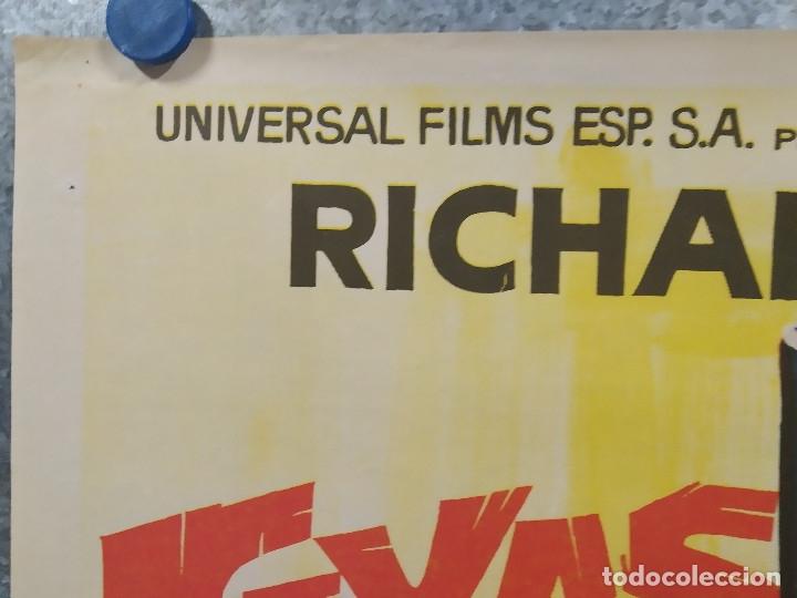Cine: Texas el rojo. Richard Harrison, Piero Lulli, Nieves Navarro AÑO 1968 POSTER ORIGINAL - Foto 2 - 180347733