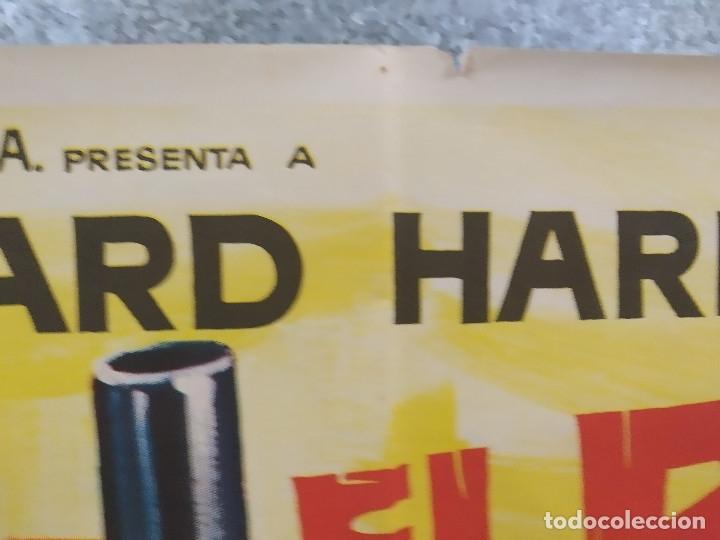 Cine: Texas el rojo. Richard Harrison, Piero Lulli, Nieves Navarro AÑO 1968 POSTER ORIGINAL - Foto 3 - 180347733