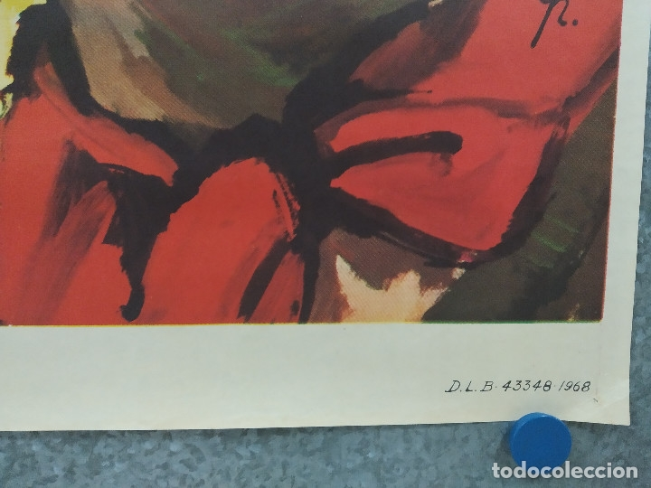 Cine: Texas el rojo. Richard Harrison, Piero Lulli, Nieves Navarro AÑO 1968 POSTER ORIGINAL - Foto 5 - 180347733
