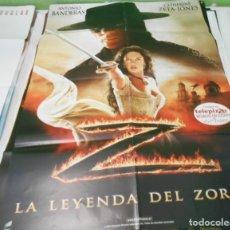 Cine: CARTEL CINE LA LEYENDA DEL ZORRO 70X100 CMS ORIGINAL. Lote 180349127