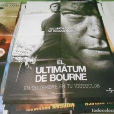 Cine: CARTEL CINE EL ULTIMATUM DE BOURNE 70X100 CMS ORIGINAL. Lote 180349235