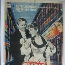 Cine: FATAL DESTINO - POSTER CARTEL ORIGINAL - LIEBLING DER GÖTTER RUTH LEUWERIK PETER VAN EYCK NAZISMO. Lote 180387677