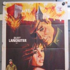 Cine: ZX60 LA FORTALEZA BURT LANCASTER PETER FALK POSTER ORIGINAL 70X100 ESTRENO. Lote 180450401
