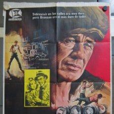 Cine: ZX59 EL LUCHADOR CHARLES BRONSON JAMES COBURN WALTER HILL POSTER ORIGINAL 70X100 ESTRENO. Lote 180450740