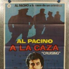 Cine: A LA CAZA. AL PACINO, PAUL SORVINO. AÑO 1980. POSTER ORIGINAL. Lote 180456700
