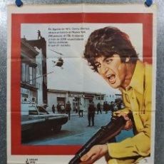 Cine: TARDE DE PERROS. AL PACINO, JOHN CAZALE, CHARLES DURNING AÑO 1977. POSTER ORIGINAL. Lote 180457010