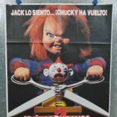Cine: MUÑECO DIABÓLICO 2. BRAD DOURIF, ALEX VINCENT. AÑO 1990. Lote 180462301