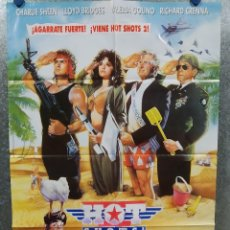 Cine: HOT SHOTS 2. CHARLIE SHEEN, LLOYD BRIDGES, VALERIA GOLINO AÑO 1993 POSTER ORIGINAL. Lote 180463298