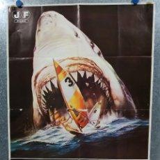 Cine: EL ULTIMO TIBURON. TIBURON 3. JAMES FRANCISCUS, VIC MORROW. AÑO 1981. Lote 180464166