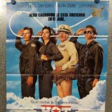 Cine: HOT SHOTS . CHARLIE SHEEN, LLOYD BRIDGES, VALERIA GOLINO AÑO 1993 POSTER ORIGINAL. Lote 180464498