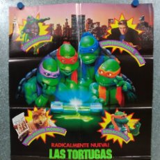 Cine: LAS TORTUGAS NINJA II. ELIAS KOTEAS, PAIGE TURCO. AÑO 1991 POSTER ORIGINAL. Lote 180464926