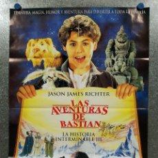 Cine: LAS AVENTURAS DE BASTIAN (LA HISTORIA INTERMINABLE 3) JASON JAMES RICHTER, MELODY KAY. Lote 180465962