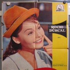 Cine: ZX14 ROCIO DE LA MANCHA ROCIO DURCAL LUIS LUCIA POSTER ORIGINAL 70X100 DEL ESTRENO. Lote 180480961