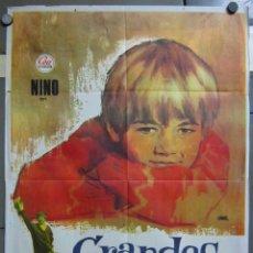 Cine: ZX89 GRANDES AMIGOS MANUEL GIL LUIS LUCIA BENITO PEROJO POSTER ORIGINAL 70X100 ESTRENO. Lote 180493527