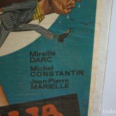 Cine: 4- CARTEL DE CINE ORIGINAL. LA VALIJA. LA VALISE. Lote 180919448