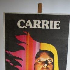Cine: CARTEL DE CINE ORIGINAL CARRIE. Lote 180921325