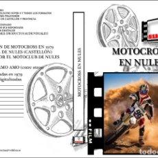 Cine: DOCUMENTAL DEL CAMPEONATO DE MOTOCROS EN NULES CASTELLON EN DVD. Lote 181024328