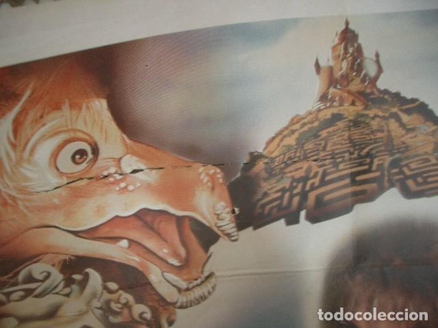 Cine: Póster original de cine 70x100cm LABERINTO CON DAVID BOWIE - Foto 2 - 181176061