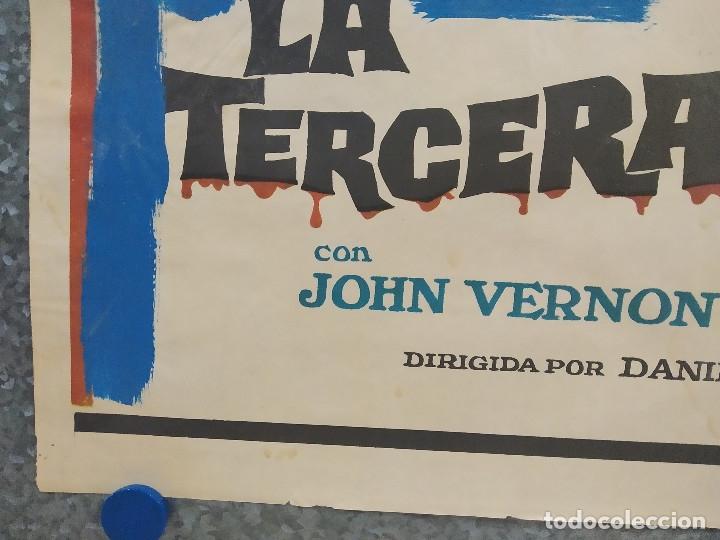 Cine: La tercera víctima. Kirk Douglas, Jean Seberg. AÑO 1974. POSTER ORIGINAL - Foto 6 - 181340978
