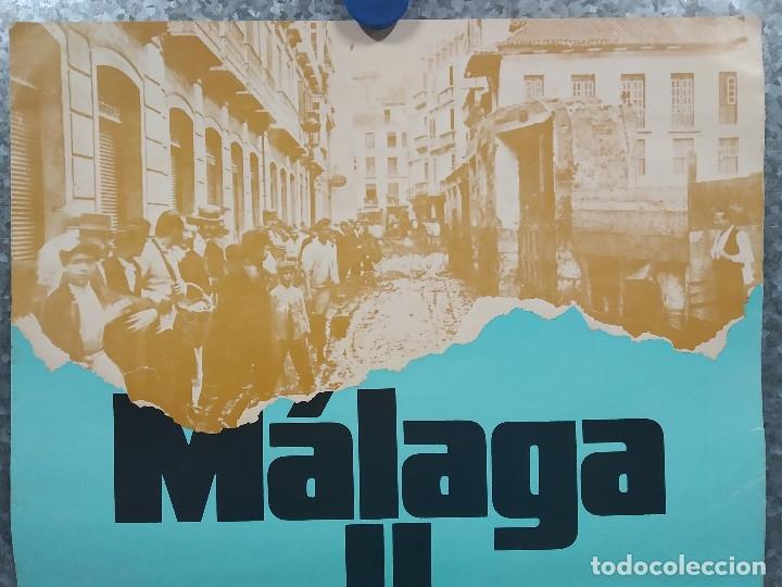 Cine: MALAGA Y PICASSO. DIRECCION MIGUEL ALCOBENDAS. AÑO 1976. POSTER ORIGINAL - Foto 2 - 181353945