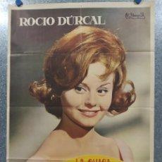 Cine: LA CHICA DEL TREBOL. ROCIO DURCAL. AÑO 1963. POSTER ORIGINAL. Lote 181355026
