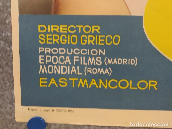 Cine: LA CHICA DEL TREBOL. ROCIO DURCAL. AÑO 1963. POSTER ORIGINAL - Foto 8 - 181355026