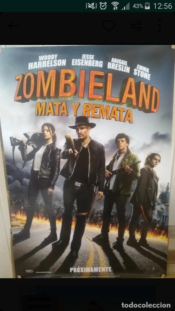 POSTER PELICULA BIENVENIDOS A ZOMBIELAND 2 - MATA Y REMATA - MEDIDAS 65 X 95 CM (Cine - Posters y Carteles - Terror)