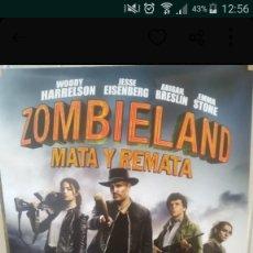 Cine: POSTER PELICULA BIENVENIDOS A ZOMBIELAND 2 - MATA Y REMATA - MEDIDAS 65 X 95 CM. Lote 181381740