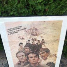Cine: CARTEL CINE PELÍCULA LOS CAÑONES DE NAVARONE. Lote 181433866