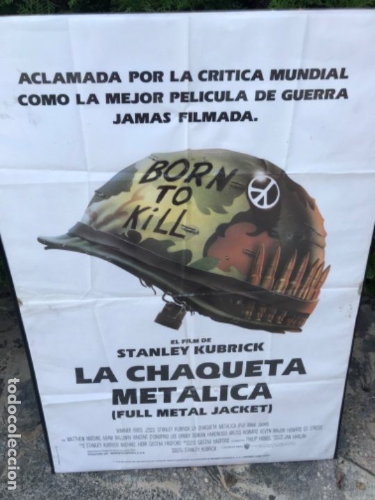 CARTEL CINE PELÍCULA LA CHAQUETA METÁLICA. GUERRA. STANLEY KUBRICK (Cine - Posters y Carteles - Bélicas)