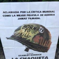 Cine: CARTEL CINE PELÍCULA LA CHAQUETA METÁLICA. GUERRA. STANLEY KUBRICK. Lote 181434692