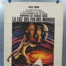 Cine: LA LUZ DEL FIN DEL MUNDO. KIRK DOUGLAS, YUL BRYNNER, SAMANTHA EGGAR AÑO 1971. POSTER ORIGINAL . Lote 181470958