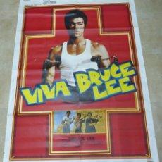Cine: VIVA BRUCE LEE - CARTEL FRANCES GRANDE 160X120 - AÑOS 1970. Lote 181563082