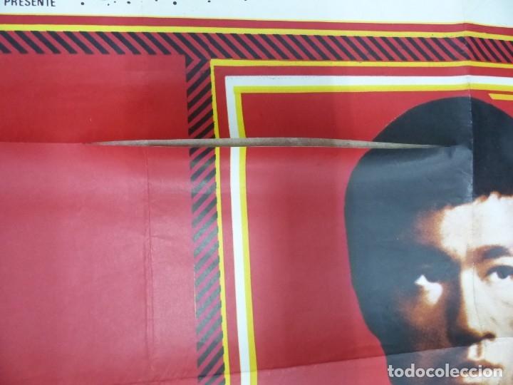 Cine: VIVA BRUCE LEE - CARTEL FRANCES GRANDE 160X120 - AÑOS 1970 - Foto 6 - 181563082